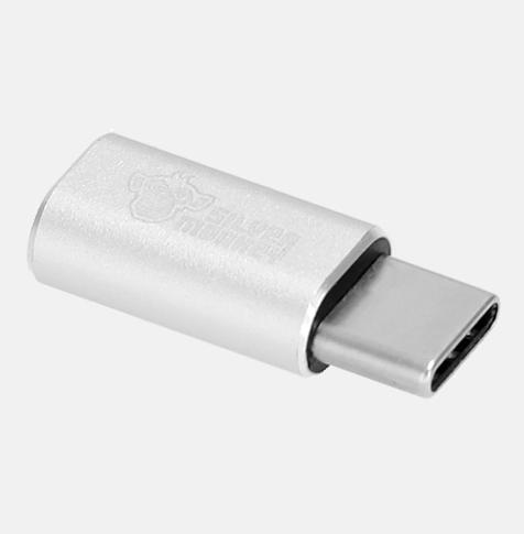 Adapter USB-C - micro USB